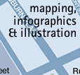 mapping, infographics and illustration